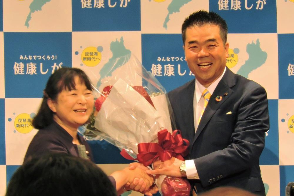 滋賀県知事選挙,三日月大造