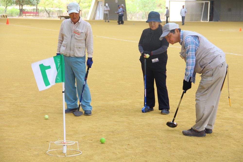 滋賀退職者連合グラウンドゴルフ大会