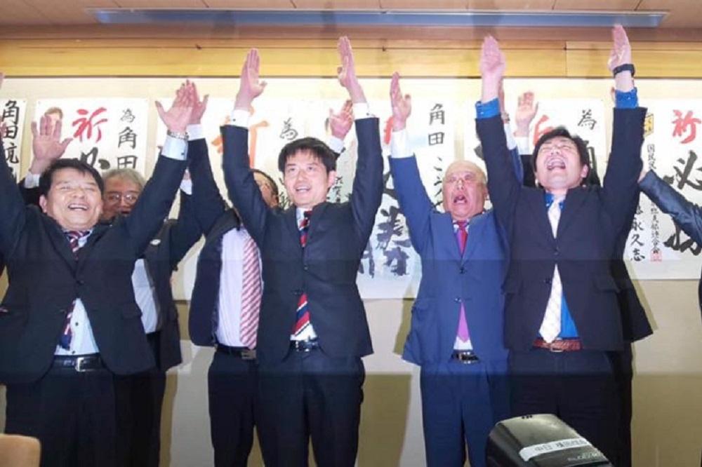 角田航也,滋賀県議会議員選挙,統一地方選挙