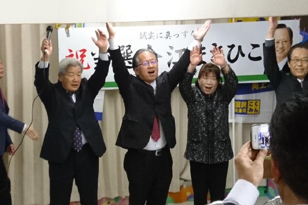 今江政彦,滋賀県議会議員選挙,統一地方選挙