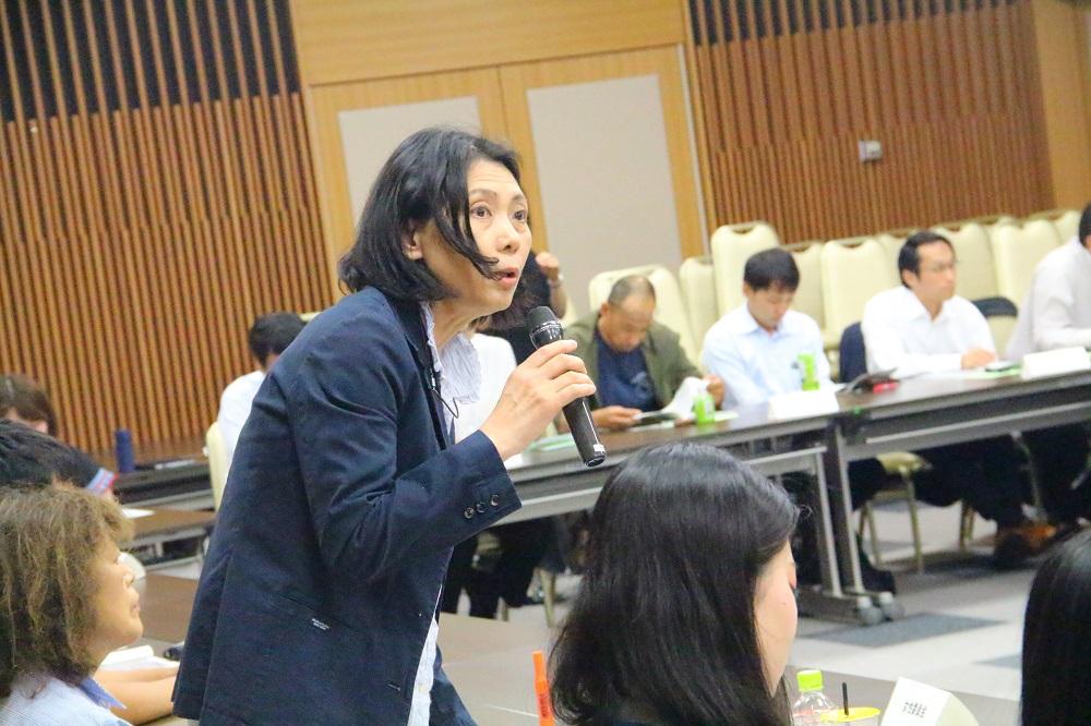 連合滋賀,男女平等月間,学習会,嘉田由紀子