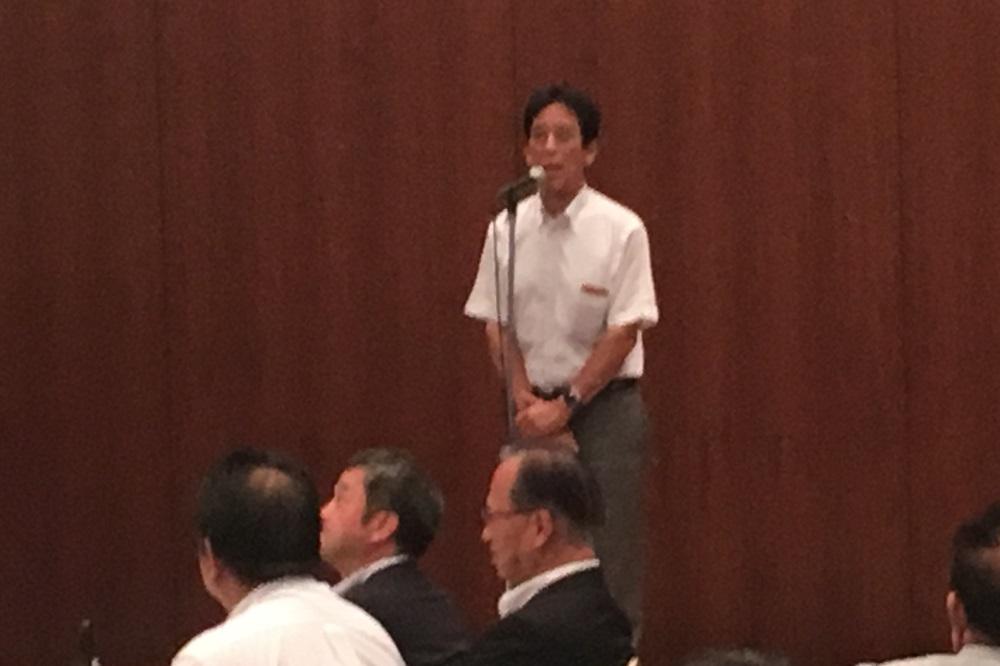 連合滋賀議員団会議第29回総会・研修会,川端達夫