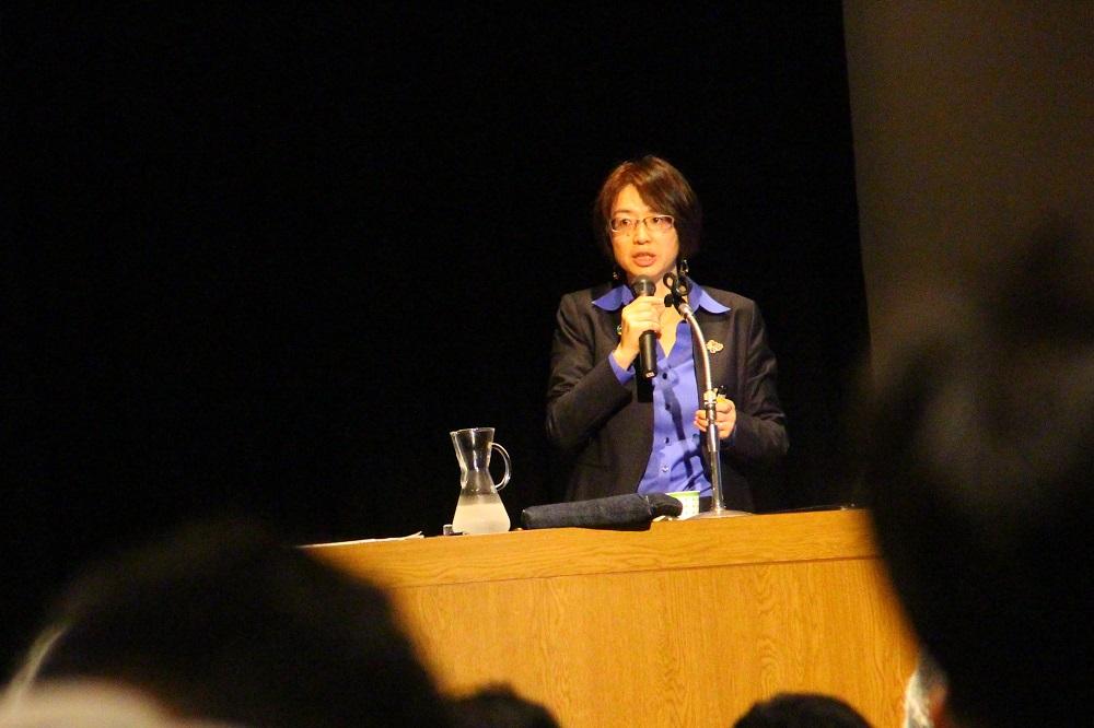SDGs市民社会ネットワーク新田英理子事務局長