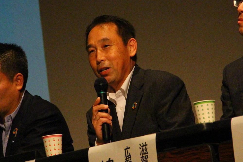 滋賀県生協連の西山実専門委員