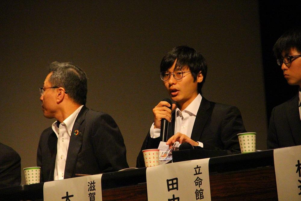 滋賀県立大学タクロバン復興支援プロジェクトの大野宏さん
