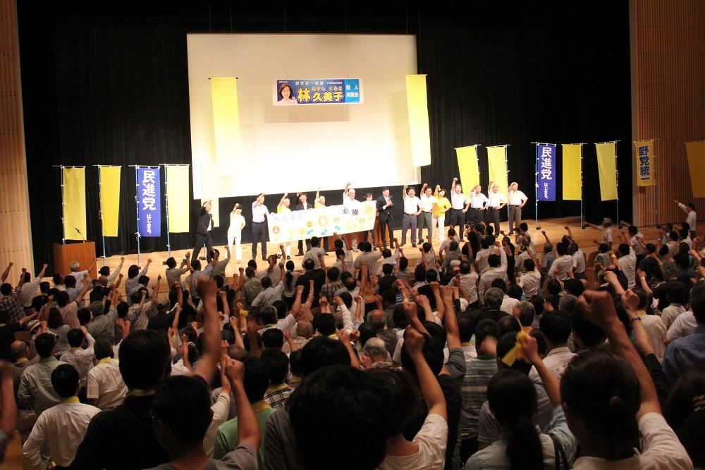 第24回参議院議員選挙,林久美子