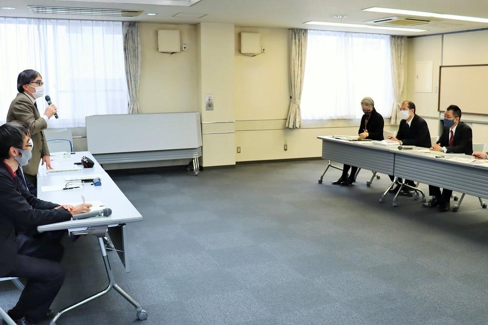 滋賀労働局への要請行動