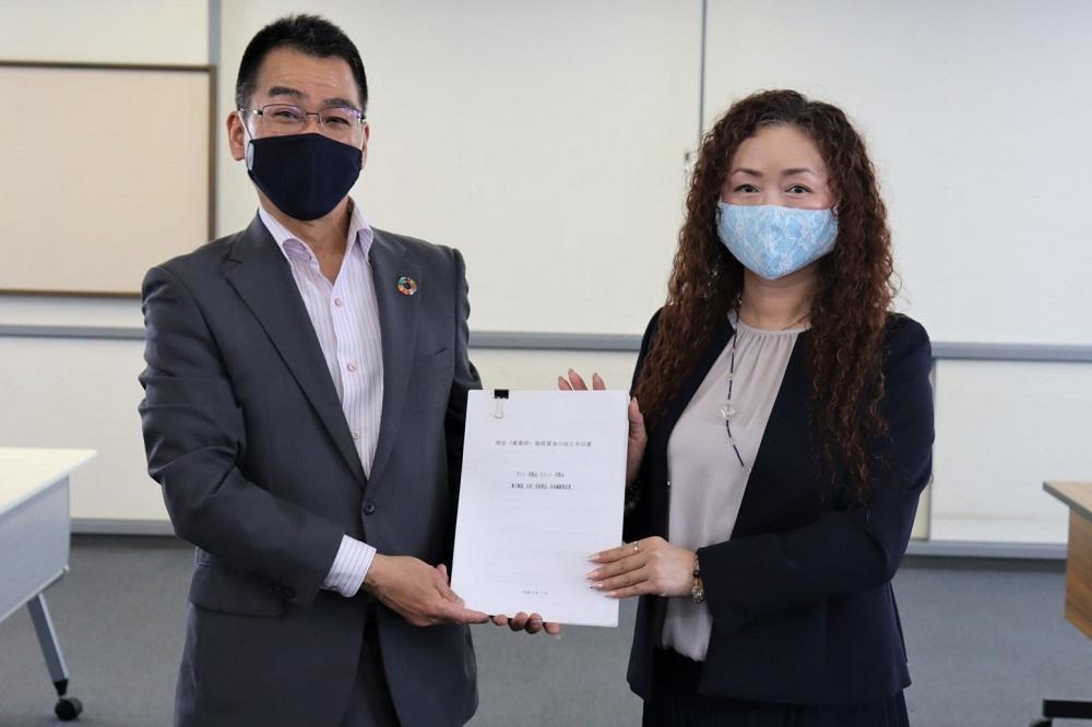 滋賀県特定最低賃金改正申出書提出
