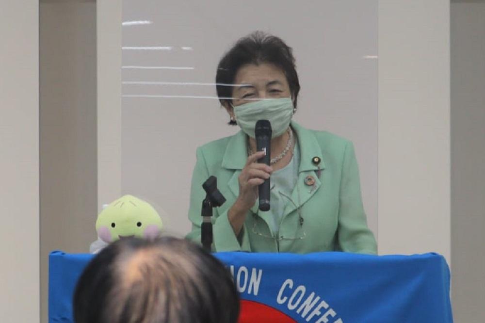 2022年度政策・制度要求討論集会,キラリエ草津,嘉田由紀子参議院議員