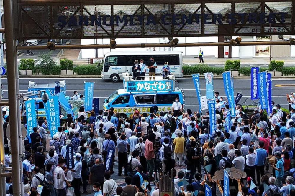 兵庫県知事選挙,金澤和夫,かなざわかずお,選挙結果