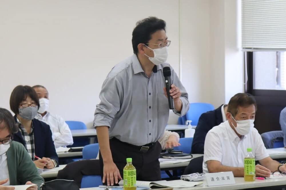 連合滋賀,労働組合,滋賀県への政策・制度要求部局協議,滋賀県庁,佐賀春樹