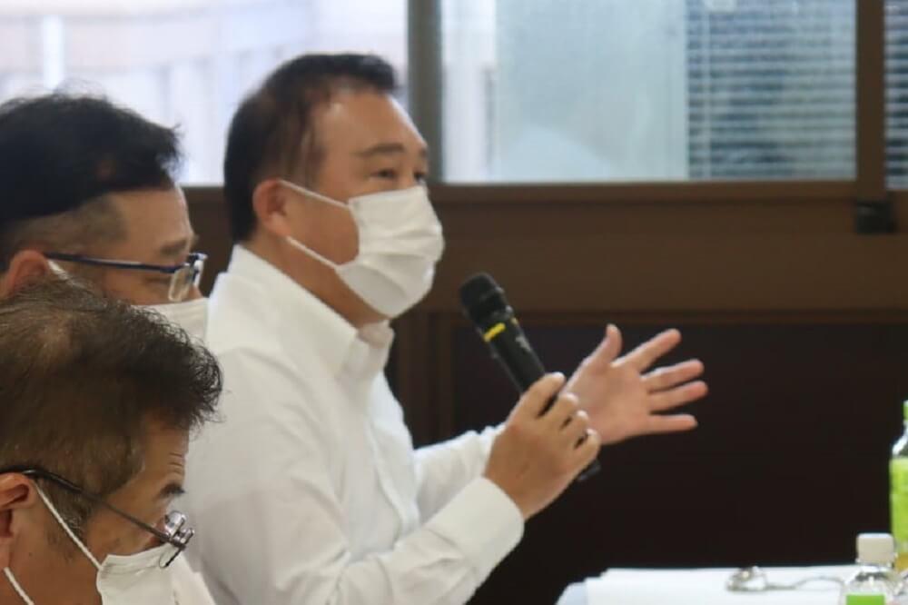 連合滋賀,労働組合,滋賀県への政策・制度要求部局協議,滋賀県庁,白木宏司