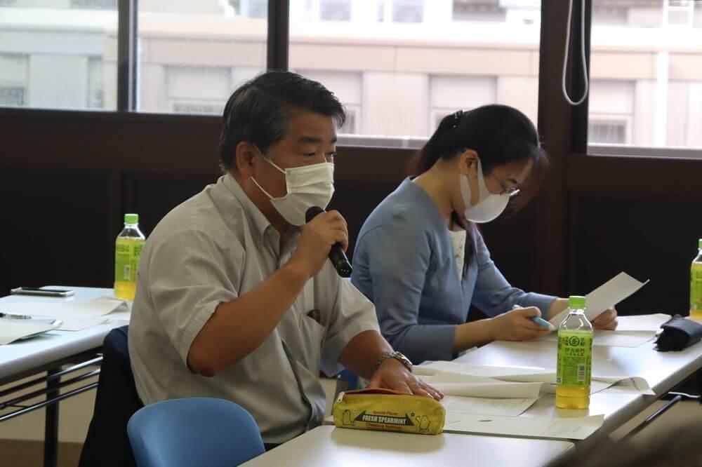 連合滋賀,労働組合,滋賀県への政策・制度要求部局協議,滋賀県庁,大西省三